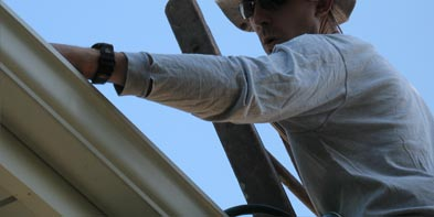 gutter repair and cleaning