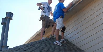 gutter repair service